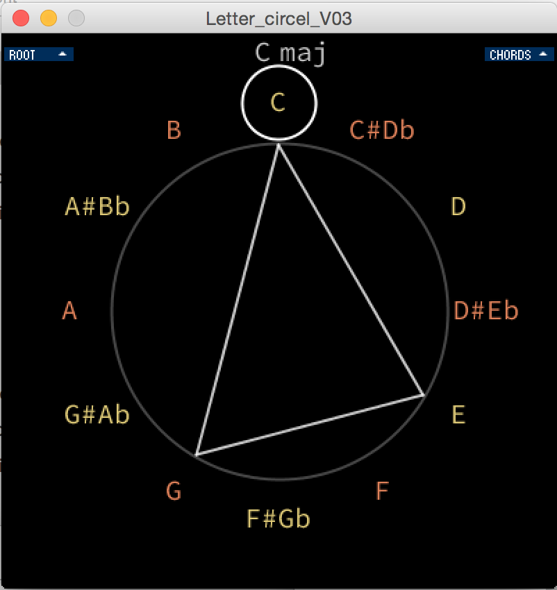 Chord Circle App Osx